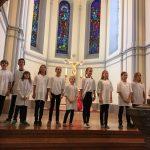 Die erste Aufführung des Musicals fand bereits in der Salzburger Chrstuskirche statt.